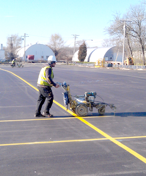 Norwest Construction Parking Lot Marking