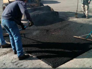 Smoothing Asphalt